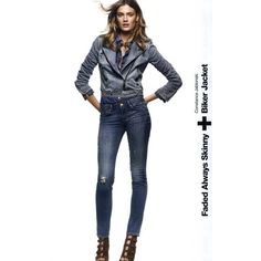 Gap Ad Campaign Spring/Summer 2010 Shot #12 ❤ liked on Polyvore featuring ad campaign and constance jablonski