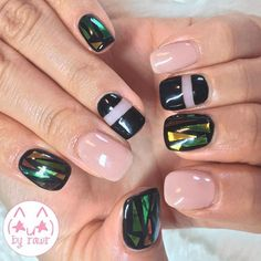 glass nails byrawr #manucure #glassnails #vernis #tendance #beauté