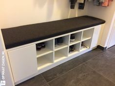 Kallax, Chill Room, Interior And Exterior, Interior Design, Mudroom, Entryway Bench, Shoe Rack, Sweet Home, Bedroom Decor