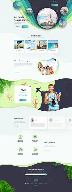 Travel Guide - landing page concept for a Travel Agency on Behance Construction Images, Advertising Design, Travel Agency, Landing, Travel Guide, Behance, Concept, Ideas, Promotional Design