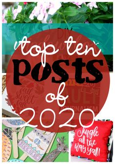 Ginger Snap Crafts: Top Ten Posts of 2020 Christmas Signs, Christmas And New Year, Christmas Diy, Hanging Canvas, Diy Hanging, Paper Puppets, Teacher Signs, School Labels, Diy Porch