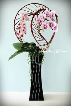 ManChing Blooms love this modern look the fine and strong lines are just great