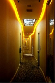 Corridor at The Scarlet, a boutique hotel, Singapore