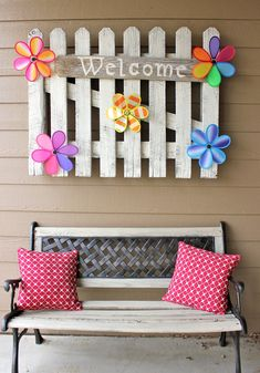 The first day of spring is March 20th and to celebrate, we've crafted a list of the most colorful and beautiful ways to welcome spring to your home by decorating your porch!