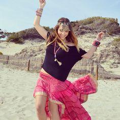 Hippie skirt Free Love Ibiza