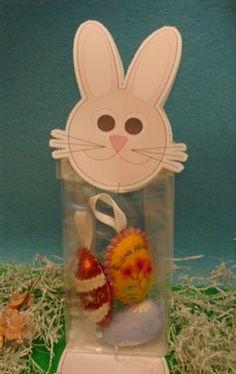 Lavoretti di Pasqua: un coniglietto portaovetti o portabiscottini - Pane, Amore e Creatività   Pane, Amore e Creatività