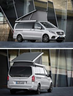 The Mercedes-Benz Marco Polo sets new standards in perceived quality, stylish living and comfortable practicality.