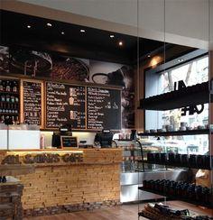 estilo de decoracion de barras para cafe - Buscar con Google