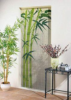 Vorhang / Deko Vorhang Bamboo Bambusstäbchen Länge 200 cm