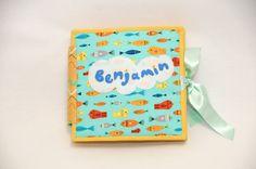 Baby-Bilderbücher - Personalised Quiet Book, 8 pages - Made to order - ein Designerstück von nemiroff bei DaWanda