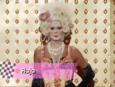 Raja (RuPaul's Drag Race S3) as Marie Antoinette :)