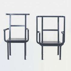 King and Queen Chair  by Jeong Yong