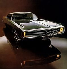 '69 Chrysler 300 with a 383 in it.