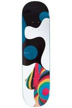 "Quasi Skateboards Double Rainbow 8.25"" Planche Skate (multi)"