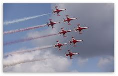 Turkish Stars Airplane Wallpapers
