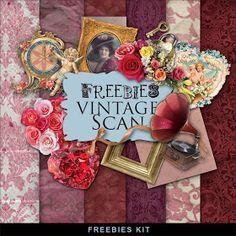 Far Far Hill: New Freebies Romantic Kit