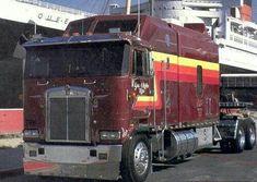 Glen Rice, Cab Over, Classic Trucks, Semi Trucks, Dog Houses, Bears, Heaven, Truck, Bear