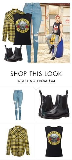 """B.A.P - That's My Jam // Jongup 1."" by berrie95 on Polyvore featuring Topshop, Dr. Martens, Carhartt, Miss Selfridge, bap, Jongup, thatsmyjam and kpopoutfits"