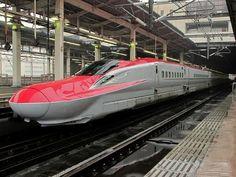 "Akita Shinkansen ""KOMACHI"" E7 system / 秋田新幹線 こまち E7系 China Train, Mystery Train, Japan Train, Rail Train, Trains, High Speed Rail, Rail Transport, Speed Training"