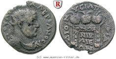 RITTER Bithynien, Nikaia, Valerianus I., Altar, Preisurne #coins