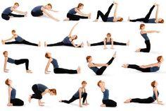 Yoga em Casa - Posições