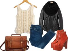 """""""Sweet & Edgy"""" by kris-ann on Polyvore"""