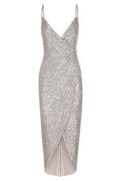 Silver Cocktail Dress, Silver Dress, Silver Bridesmaid Dresses, Elegant Dresses, Pretty Dresses, Beautiful Dresses, Mother Of Bride Outfits, Brides Mom Dress, Drape Maxi Dress