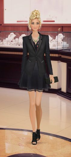 """Covet Fashion Game Event """"Shop for Gold Hardware"""""""