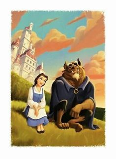 The wild, artistic side of Disney. I wish I saw more fan-art like this. :)