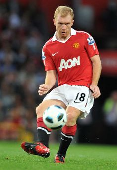 ~ Paul Scholes of Manchester United ~