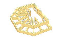 Här beskriver Martin Timell hur du snickrar en entrétrapp med rejäl yta runt dörren.