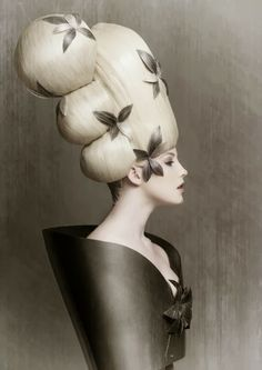 #17 ~ Huge High Hair http://bricolage-julier.blogspot.com