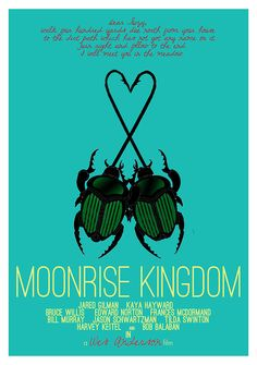 Pete's favorite poster. Check out Pete & Brigette's review of Moonrise Kingdom here: http://chaptersandscenes.wordpress.com/2014/02/15/pete-and-brigette-review-moonrise-kingdom/