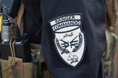 Airsoft Player in Japan. MIlitary Patch design. RANGER COMMAND patch.