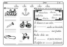 Fichas infantiles para aprender a leer y aprender a escribir con la letra C. Dibujos Lectoescritura con letra C para colorear. Lectoescritura_CyQ_7