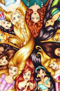 Princess hair!(=(=(=#######