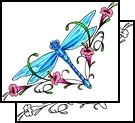 """This one is a special token for me, and can be found on my """"Hummingbirds and Dragonflies board as well."""