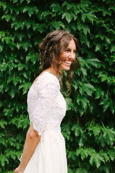 wedding dress | sleeves | mandi nelson photography