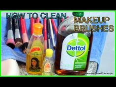 ▶ How To Clean Makeup Brushes with Baby Shampoo At Home Professionally - YouTube