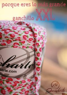 Ganchillo XXL, crochet with heart!    #sacocharte #trapillo #tshirtyarn #crochet