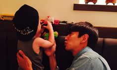 Haha Is Thankful and Jealous of Lee Kwang Soo Taking Care of His Son