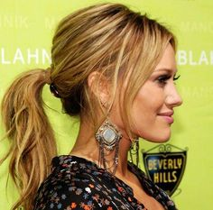 cute -n- classy ponytail