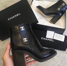 Those Chanel boots are so amazing I want a pair of the luxury ones. - Chanel Boots - Trending Chanel Boots for sales. - Those Chanel boots are so amazing I want a pair of the luxury ones. High Heels Boots, Heeled Boots, Bootie Boots, Shoe Boots, Ankle Boots, Shoes Heels, Shoe Bag, Gucci Shoes, Shoes Valentino