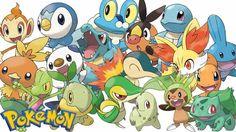 Pokemon all starters wallpaper