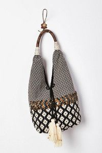 Discover unique satchels and hobo bags at Anthropologie, including the season's newest arrivals. Moda Fashion, Fashion Bags, My Bags, Purses And Bags, Tribal Bags, Ethno Style, Hippie Man, Ethnic Bag, Look Boho