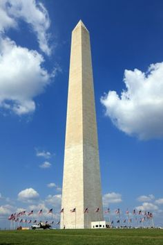 Washington Monument - Washington, DC...Been there!  Climbed the steps inside before they closed them off to public!