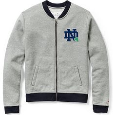 0ac3360362bb Product  University of Notre Dame Women s Academy Track Jacket Essential  Wardrobe Pieces
