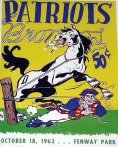 Football Art, Football Memes, Football Program, Vintage Football, School Football, Sports Art, Sports Logos, Patriots Game, Nfl Championships