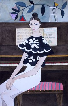 Illustration.Files: Dior S/S 2016 Fashion Illustrations by Kelly Beeman