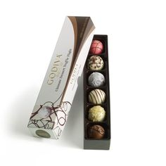 Godiva Chocolatier Dessert Truffle Ultimate Flight 6 Count -- Learn more by visiting the image link.